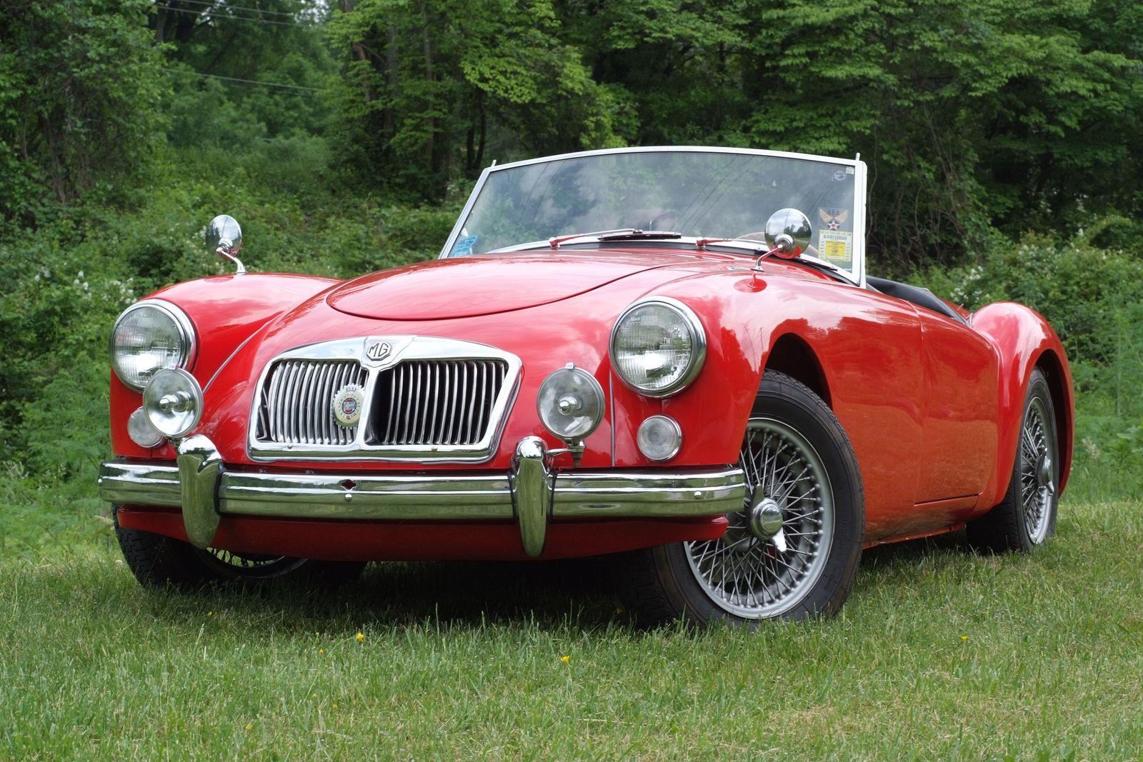 1961 Mg A Jmc Autoworx