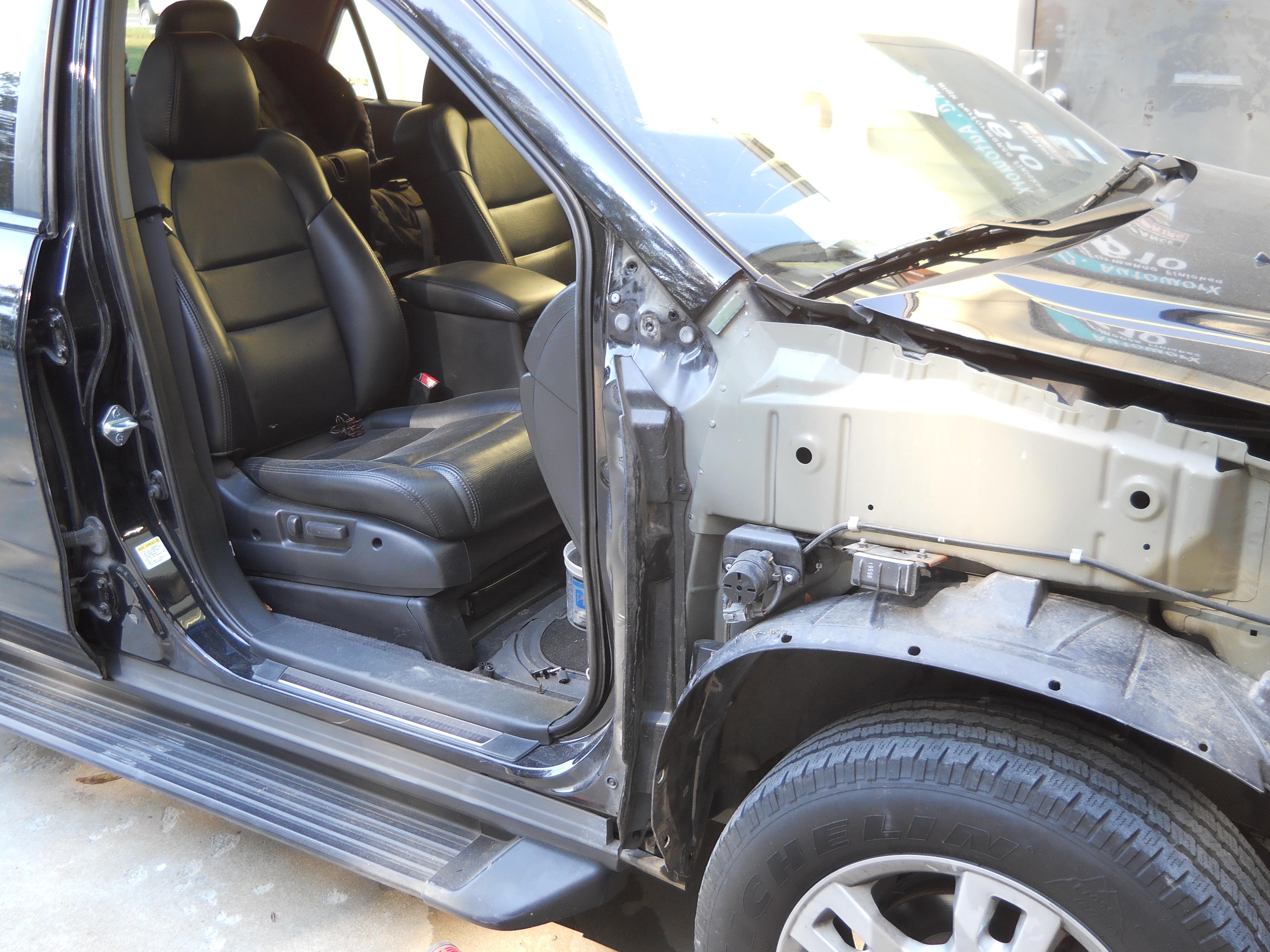 Just ... & Garage door 1 car door 0 | JMC AutoworX