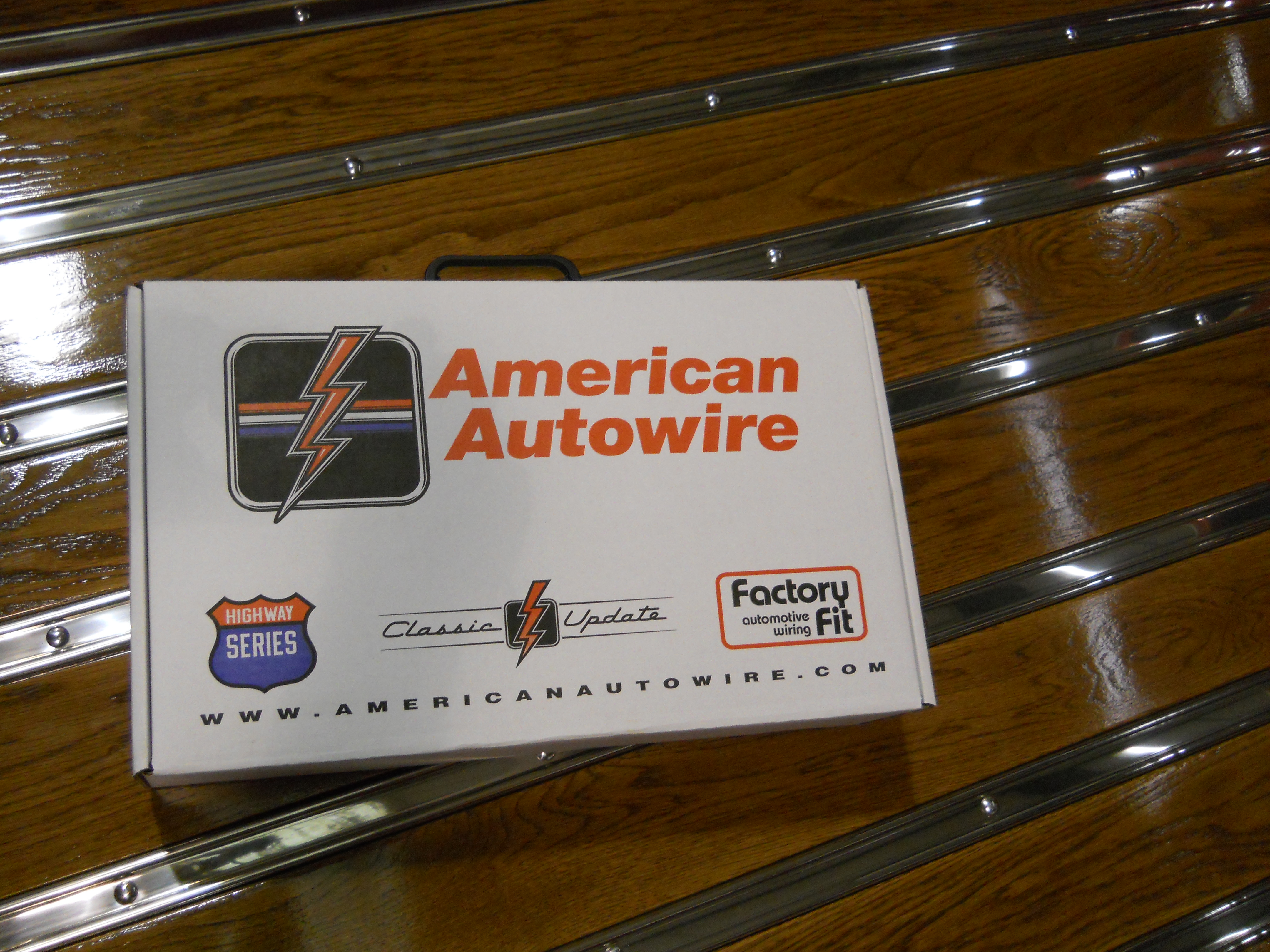 The wiring harness for the 1950 Chevy ...